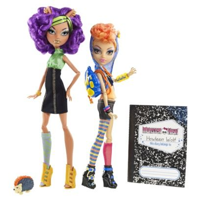 Howleen And Clawdeen Wolf Doll Pack Agian I Found I A Long Time Ago Time 2 Put It 2 Good Use Monster High Monster High Doll Accessories Monster High Dolls