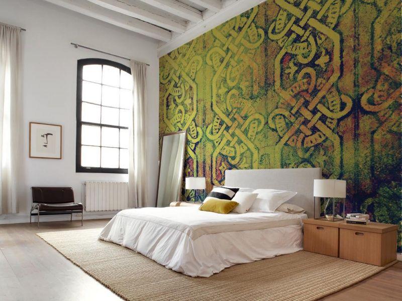 Design Behangpapier Slaapkamer : Sterk design behang r interiors slaapkamer