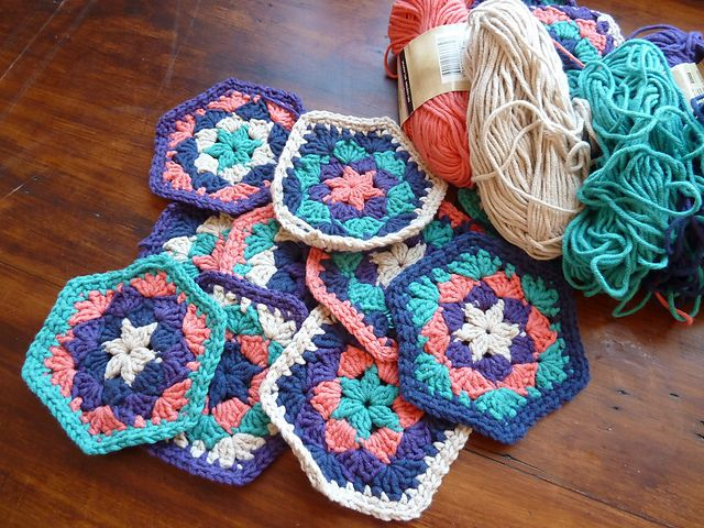 Ravelry: Project Gallery for Crochet Hexagon Throw pattern by Candi Jensen