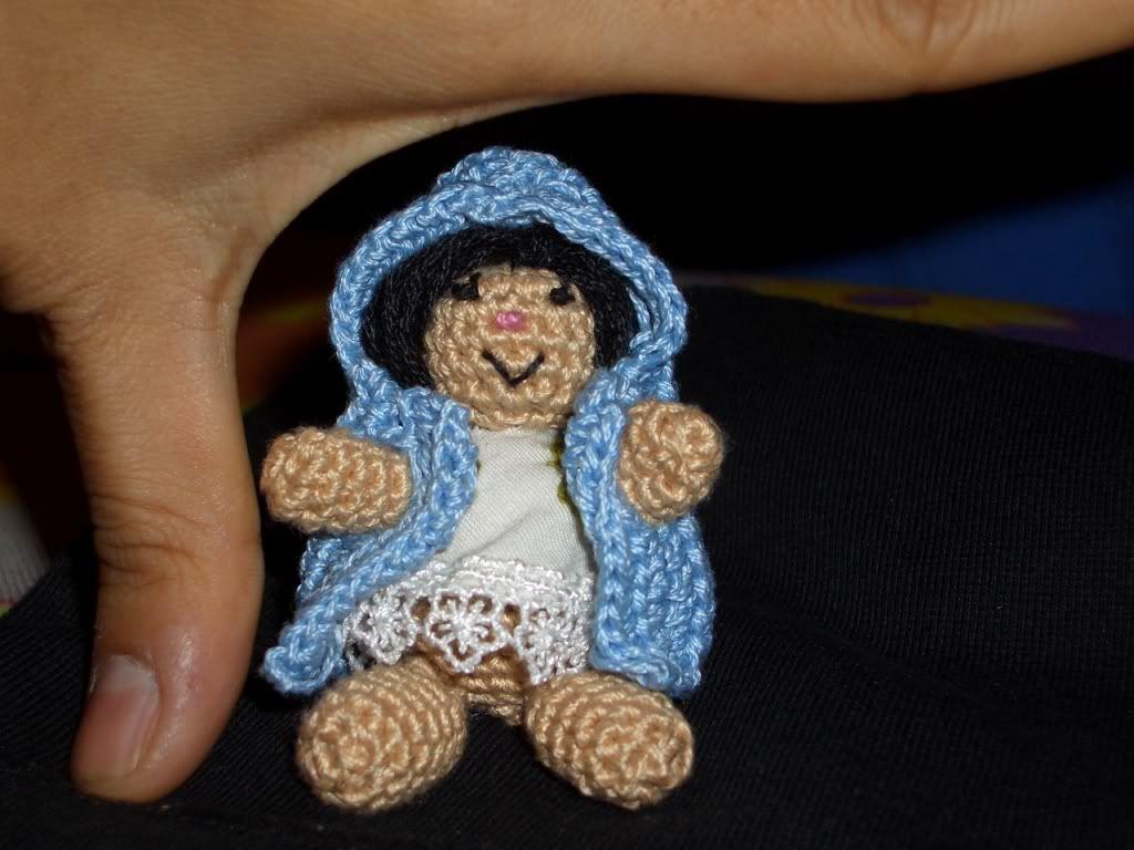 Pocket Bibis - tiny amigurumi dolls