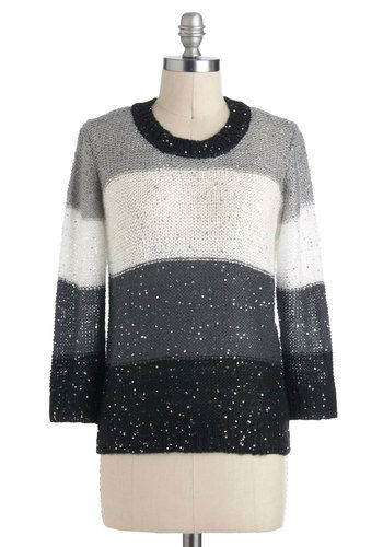 All That Dazzle Sweater, #ModCloth