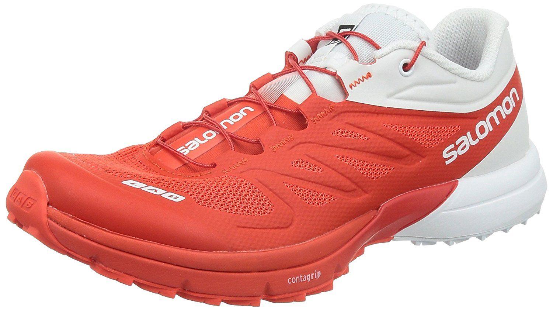 buy online 99428 9e994 salomon s lab xt 6 softground running shoes white blue  amazon salomon s  lab sense 4 ultra running shoe mens racing red 8 trail running