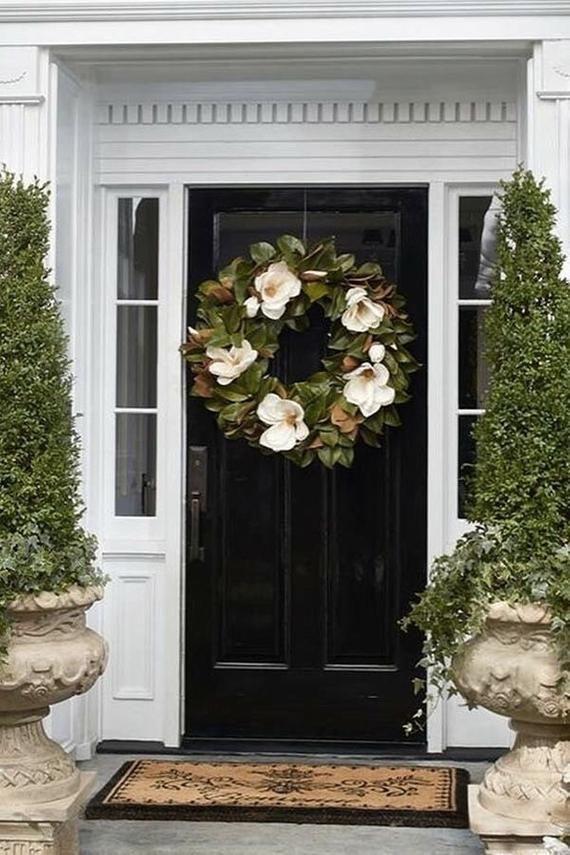 Photo of Magnolia wreath for front doors