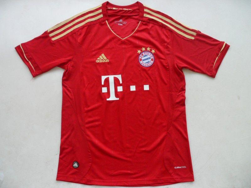 online store 4f859 cb4a3 12/13 Bayern Munich home football jersey Thailand quality ...