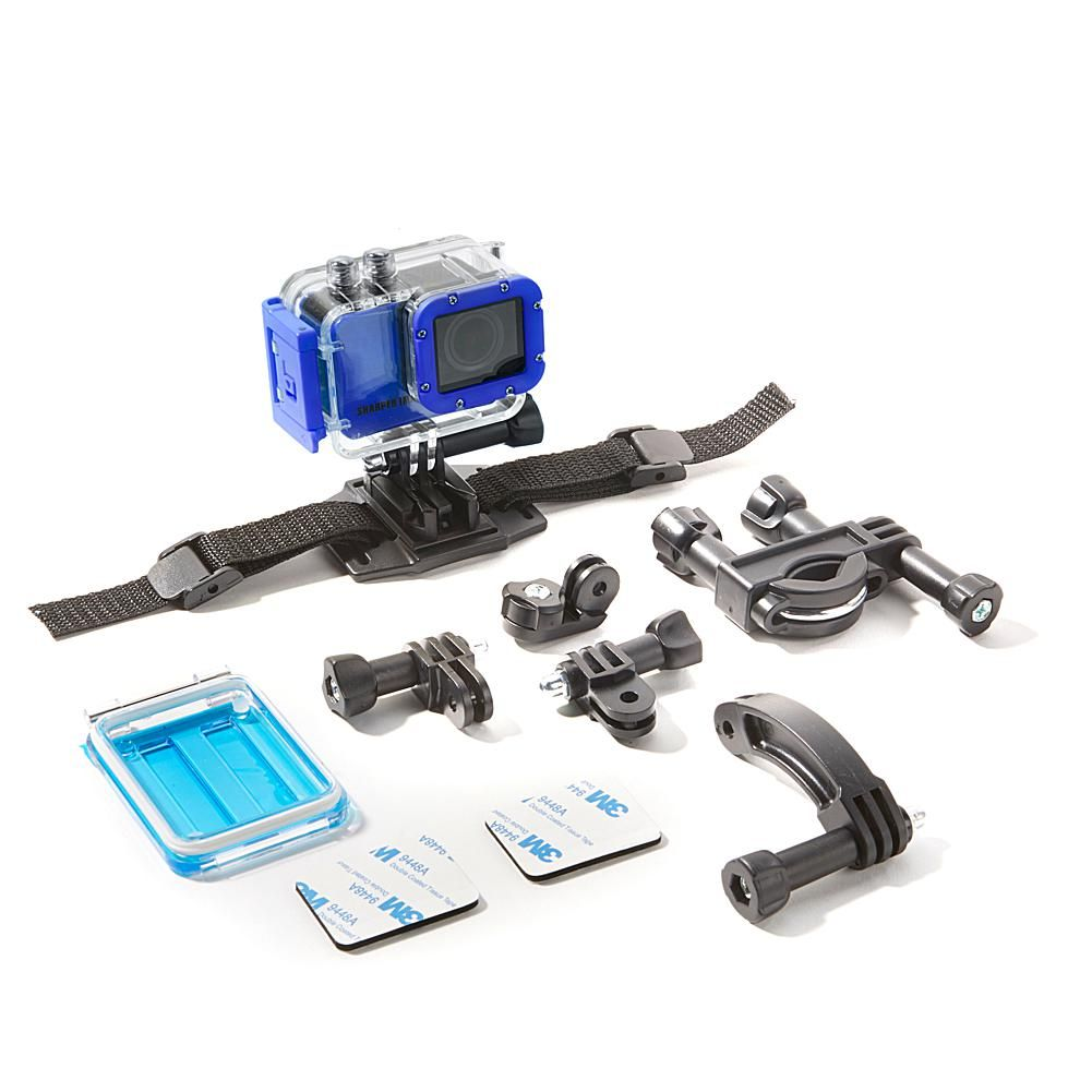Sharper Image 4k Wireless Action Camera With Accessories And 8gb