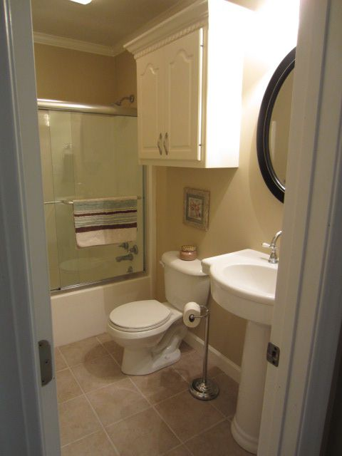 Small Bathroom Renovation New home decorating ideas Pinterest