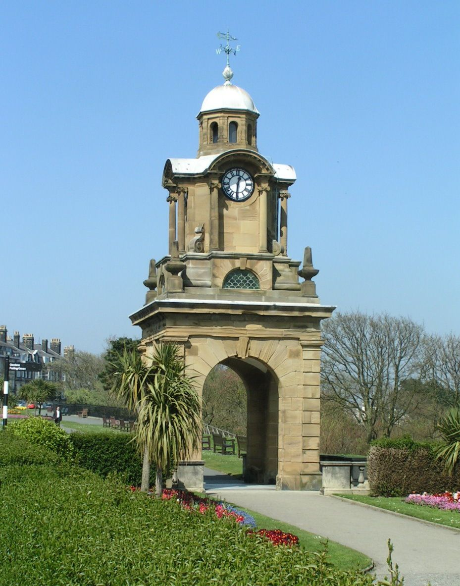 Clock tower on the South side