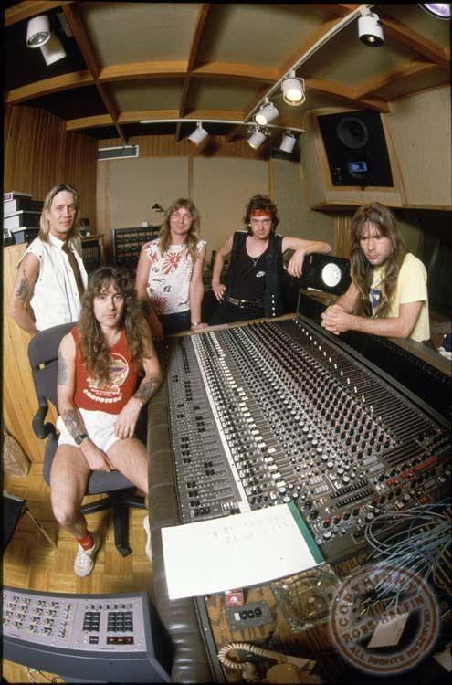 Iron Maiden Megapost de Imagenes por Ross Halfin