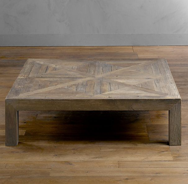 Our Monster Coffee Tableft X Ft Home Design Pinterest - 4ft coffee table