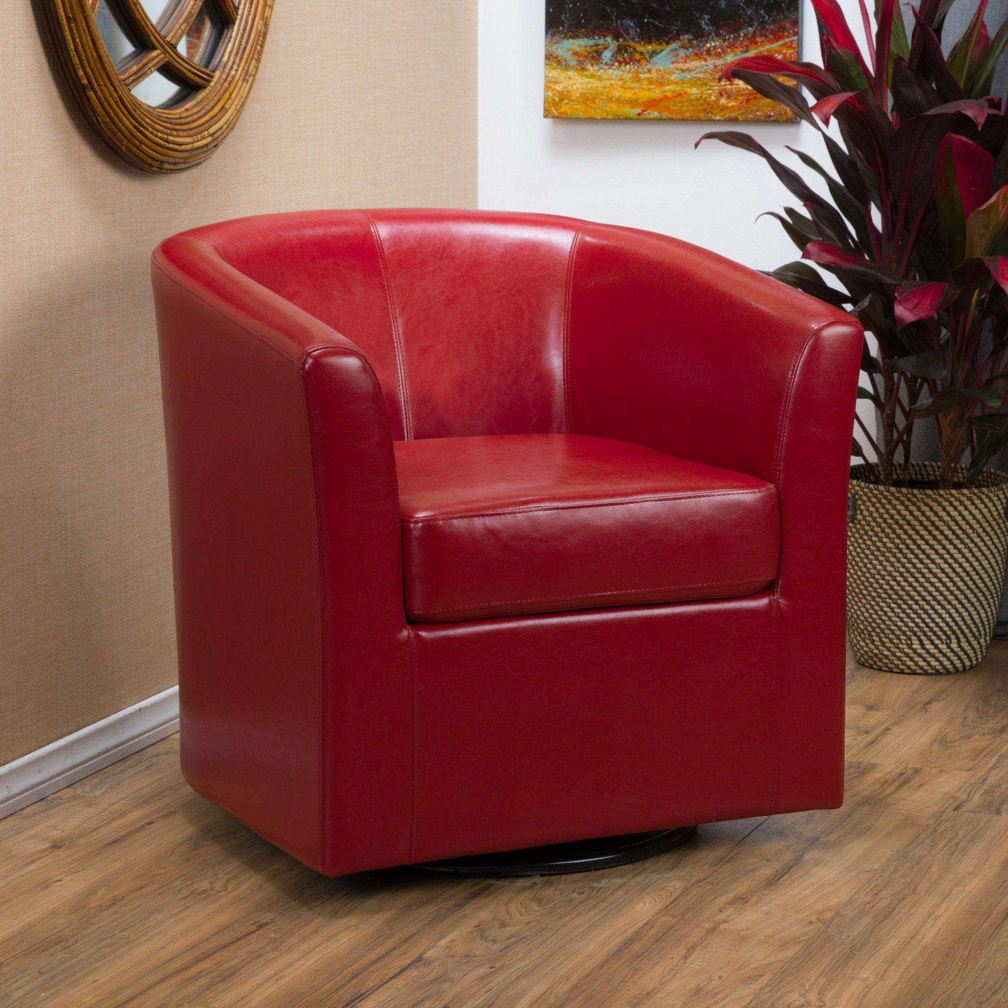 Wilmore Swivel 22 Quot Barrel Chair Swivel Club Chairs