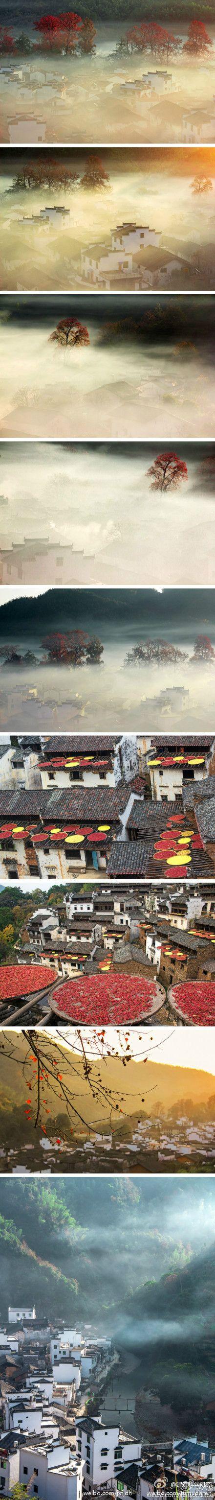 徽州,领略中国古建筑的美