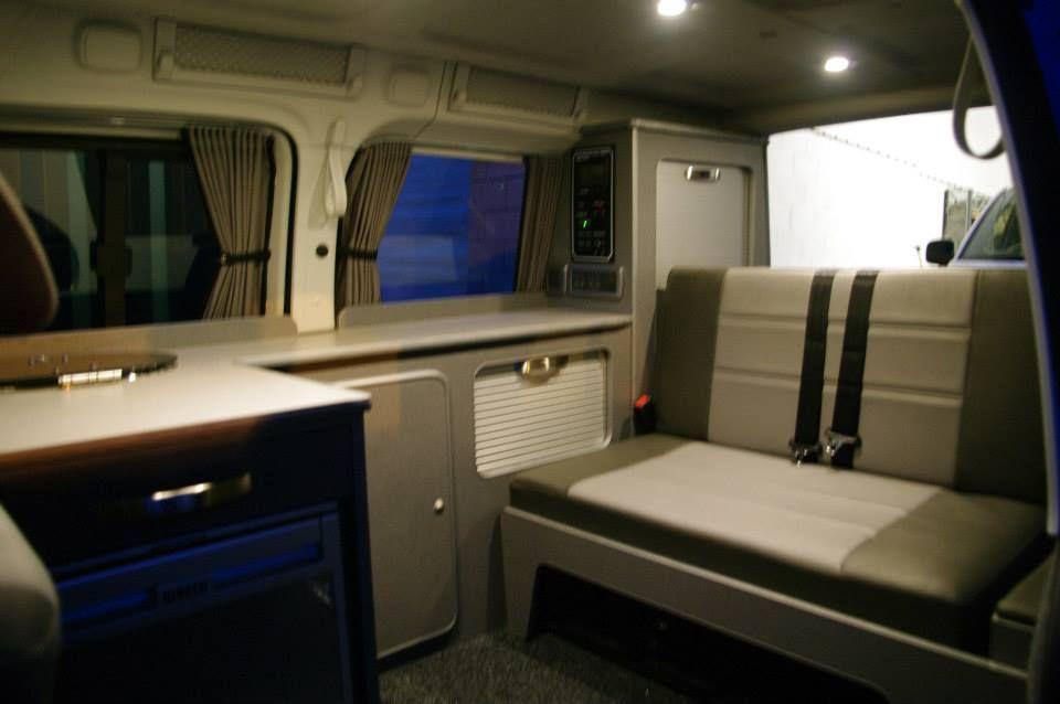 ajc conversions ltd caddy maxi camper conversion with. Black Bedroom Furniture Sets. Home Design Ideas