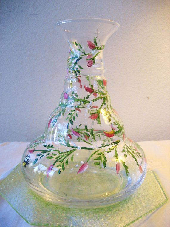 Hand Painted Rosebud Vase Patterns