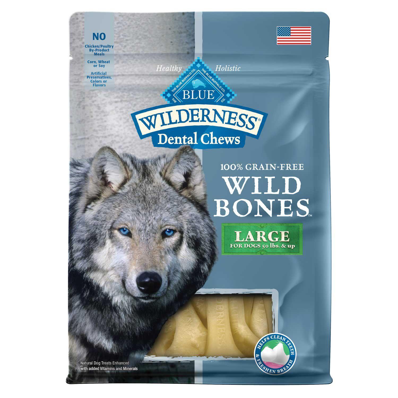 Blue Buffalo Blue Wilderness Wild Bones Medium Dog Chews 10 Oz