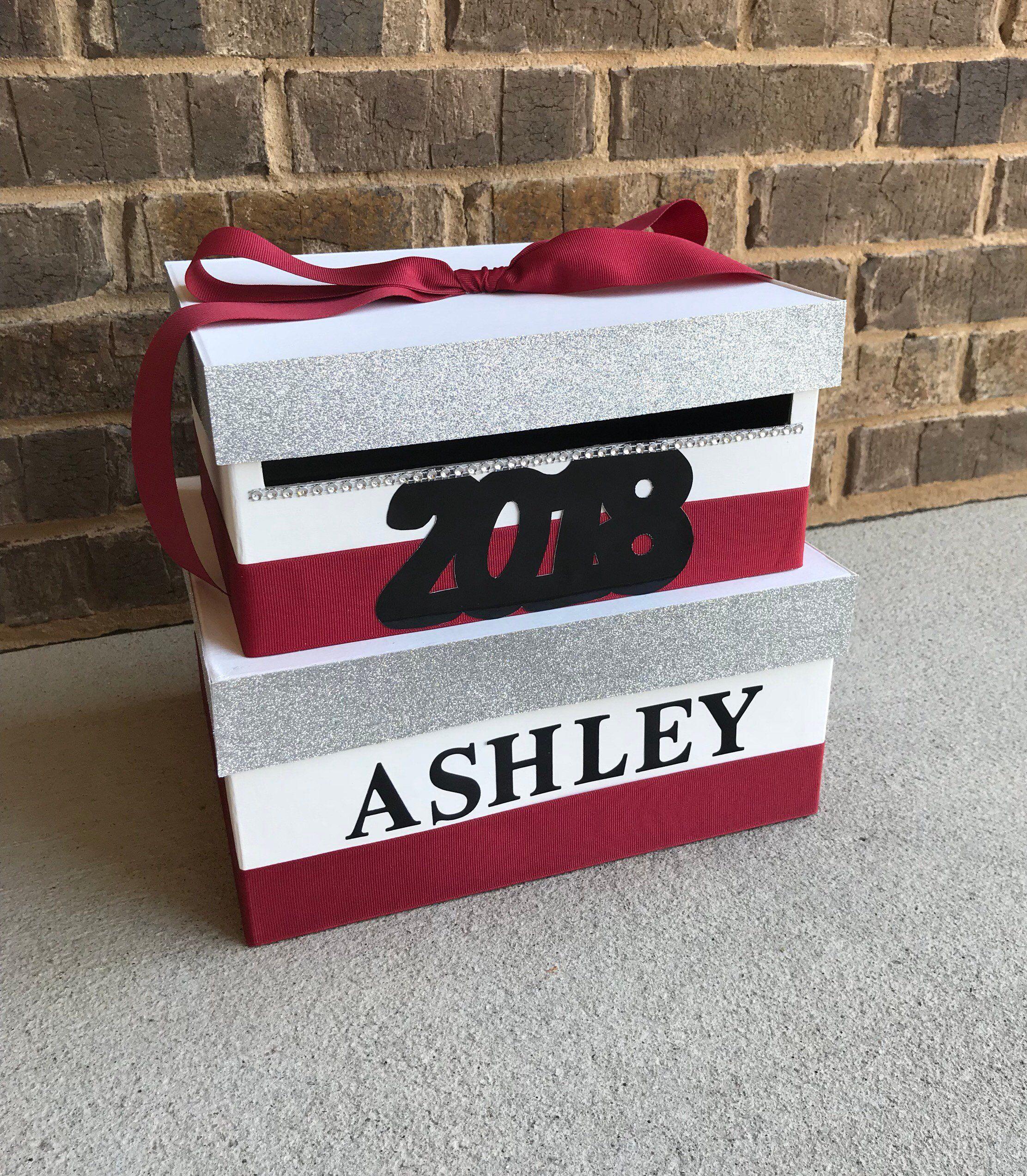 how to make a money box for graduation
