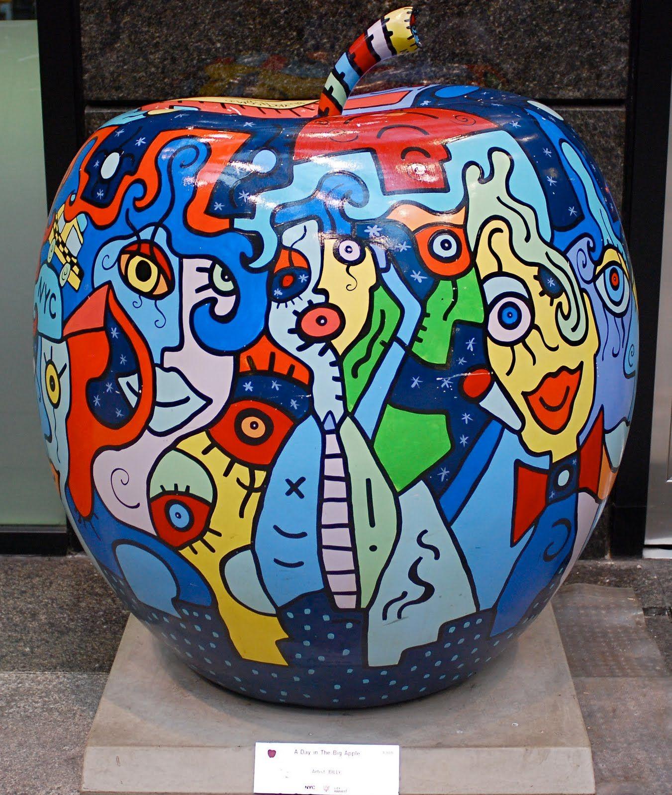Apple sculture pop art artists famous pop art artists