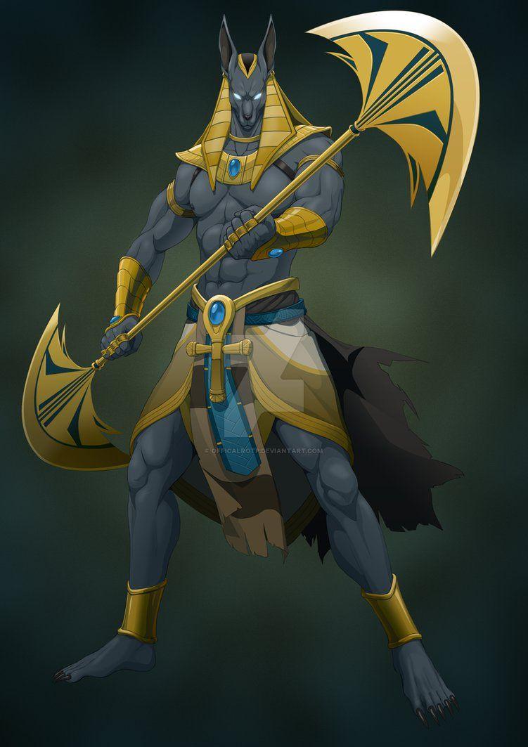 Anubis By Officalrotp On Deviantart Anubis Creature Artwork
