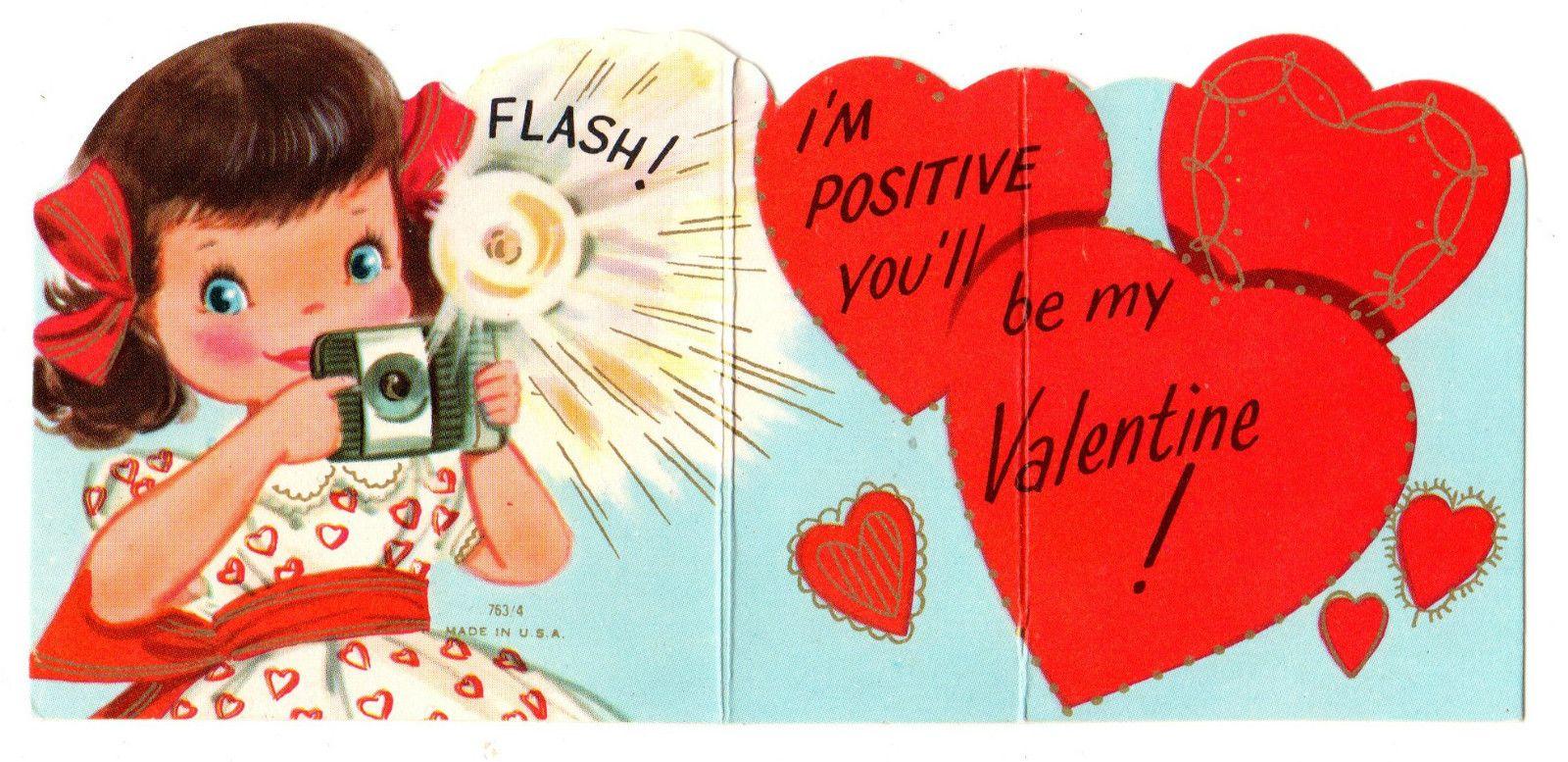 pindaniele on girls vintage valentines 2