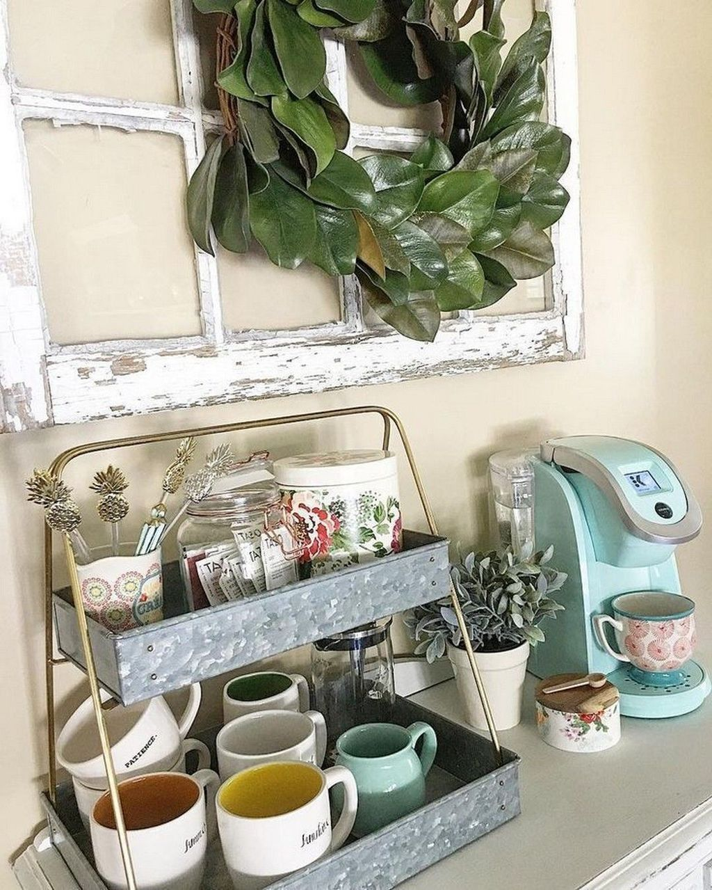 30+ Fantastic DIY Coffee Bar Ideas For Your Home In 2020