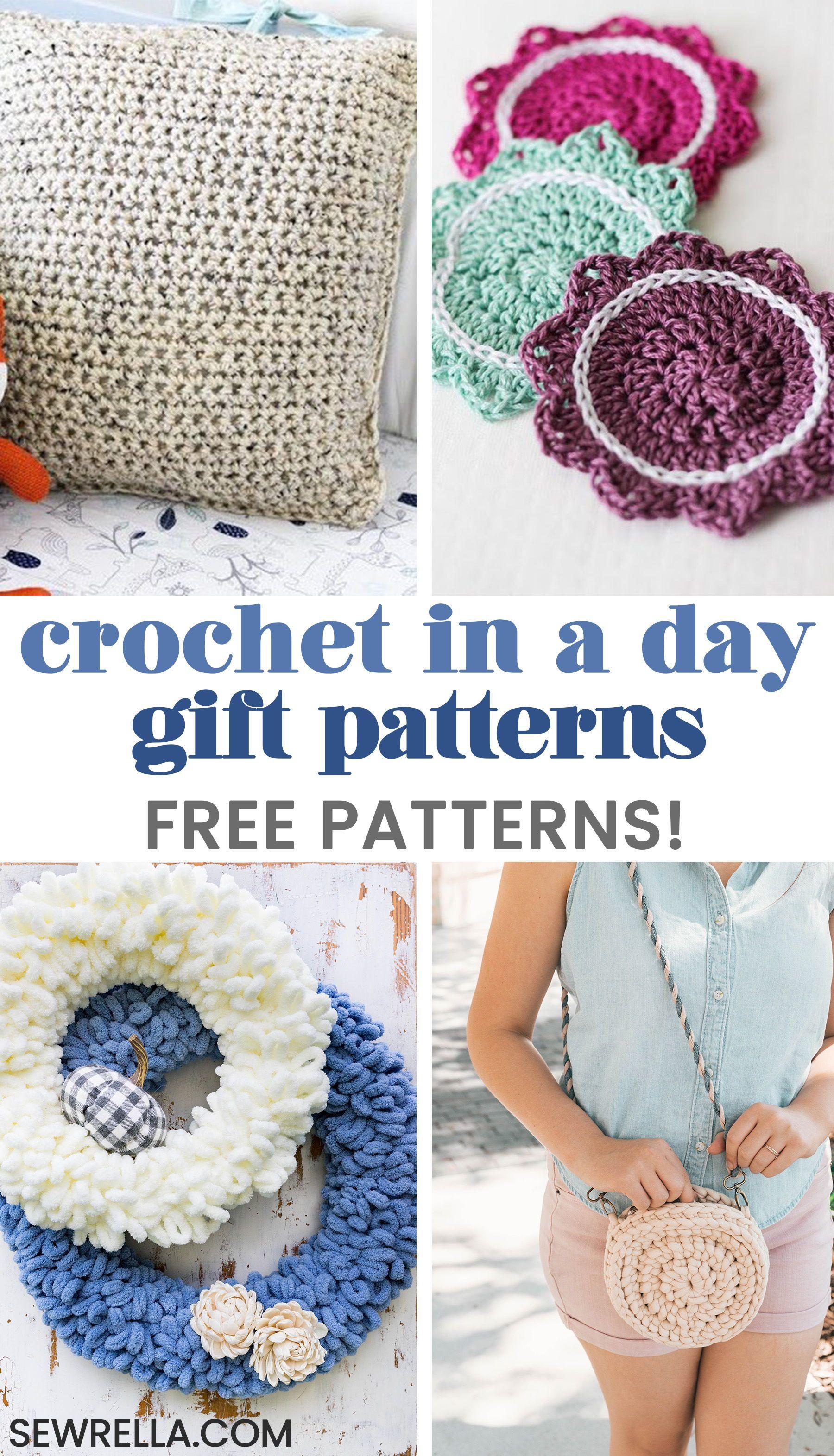 Crochet In a Day Free Gift Patterns | crochet | Pinterest | Crochet ...