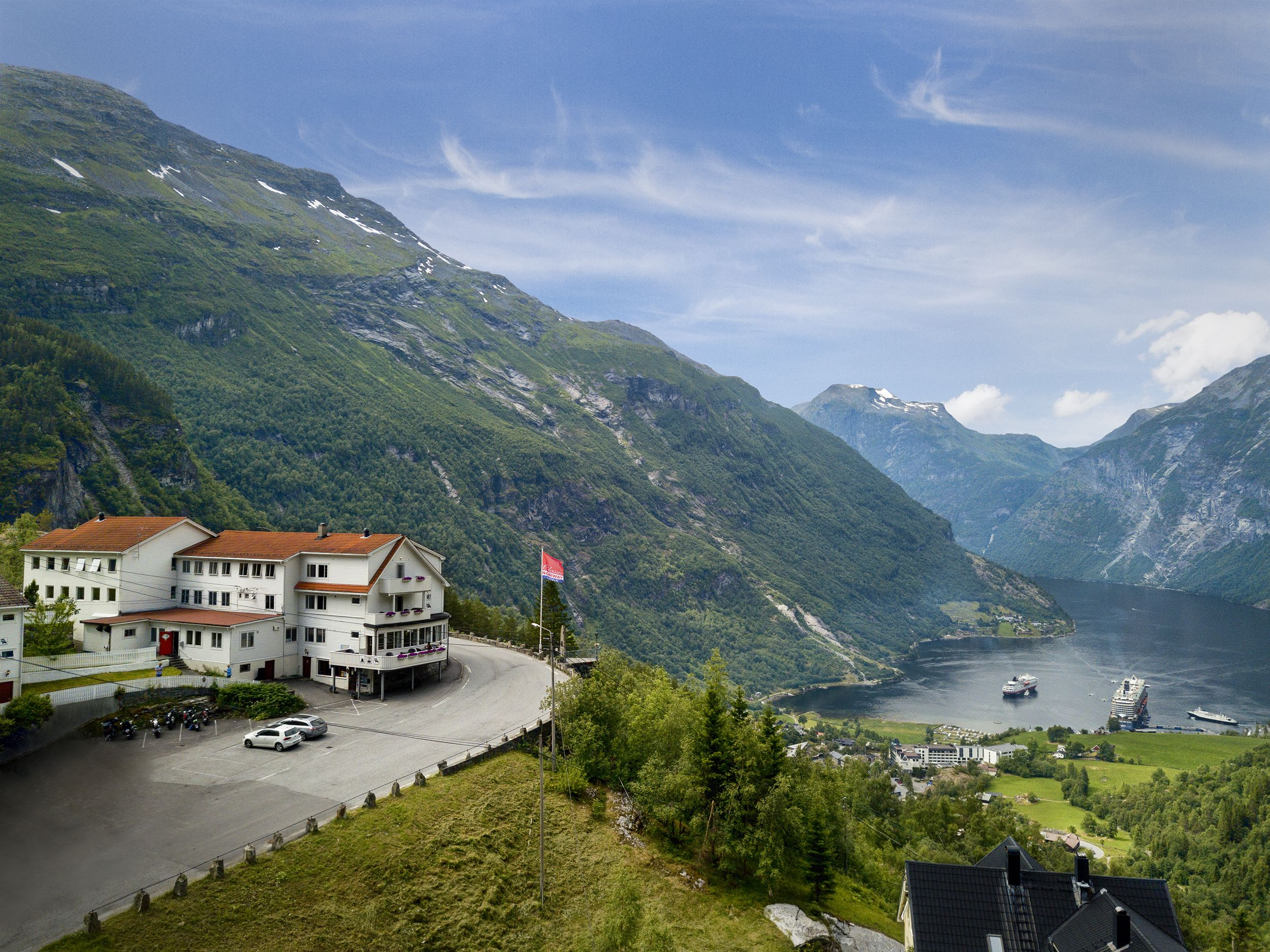 View Over The Unesco Fjord Norway Hotel Norway Corporate