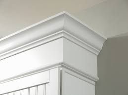 Nice stacking of molding | Kitchen soffit, Kitchen cabinet ...