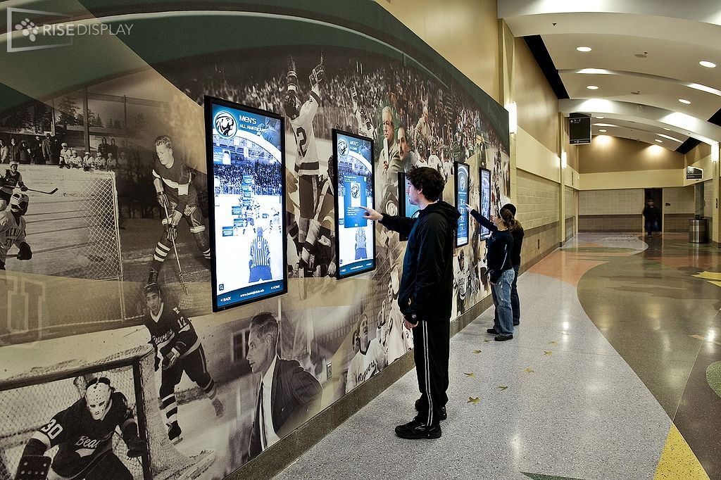 High school athletics hall of fame | Donor wall, Digital
