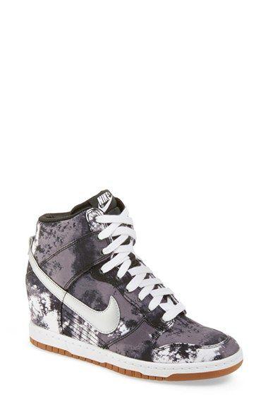 Nike Dunk Sky Hi Wedge Sneaker Women Nordstrom Womens Sneakers Womens High Top Sneakers Sneakers