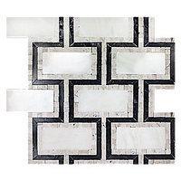 Aquila Carrara Mosaic Carrara Mosaics The Tile Shop Art Deco Bathroom