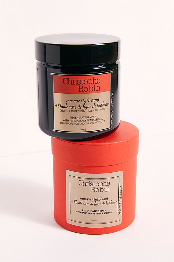 Christophe Robin Regenerating Mask With Prickly Pear Seed Oil Christophe Robin Robin Paraben Free Products
