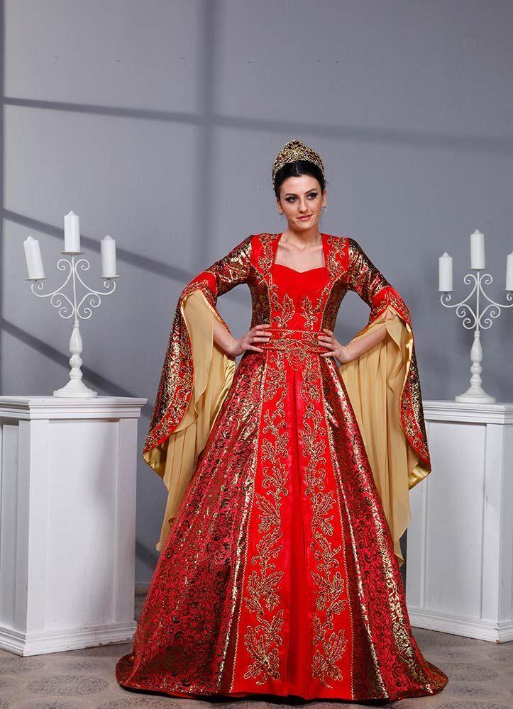 Full Boncuk Isleme Kaftan Bindalli Kina Elbisesi Yazgi Krmz Kiyafet The Dress Ve Giyim