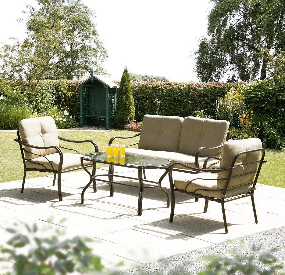 Suntime Ferndown 4 Seater Sofa And Table Set | Garden Ideas | Pinterest