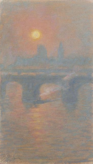Emile Claus (1849-1924), Londres - 1916/17