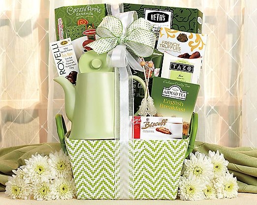 Tea Time at Wine Country Gift Baskets