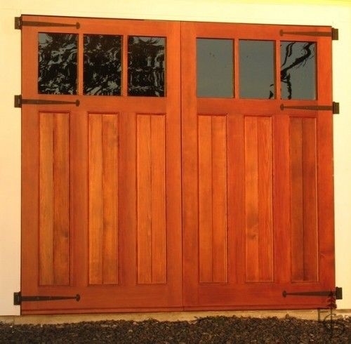 Love This Hinges And All Carriage Style Garage Doors Garage Doors Garage Door Design