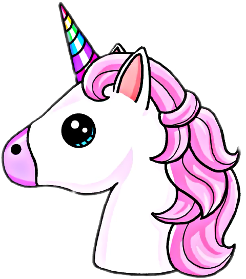 Search For Trending Stickers On Picsart Unicorn Drawing Kawaii Unicorn Cute Drawings