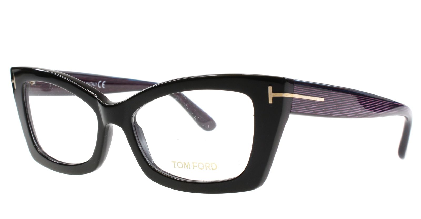 da94c9df20c Pin New Tom Ford Eyeglasses Women Cat eye TF 5363 Black 005 TF5363 53mm