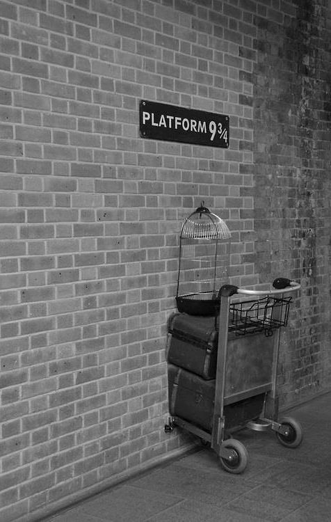 Platform 9 3/4   Harry potter ron weasley, Harry potter ...