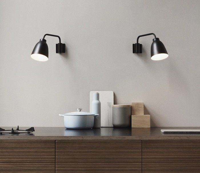 Objects of design 362 danish lighting house and modern black wall light caravaggio from lightyears in denmark mozeypictures Gallery