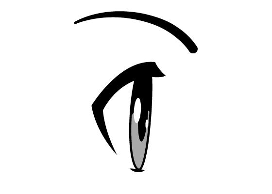 How To Draw Anime Manga Eyes Side View Manga Eyes Anime Drawings Anime Eyes