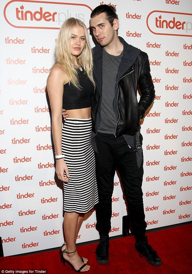 Big fans?TV personality Nick Simmons and model Rebecca Szulc were also present...