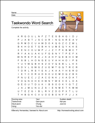 Tennis Wordsearch Crossword Puzzle and More  Printables and