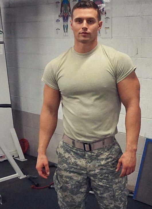Pin By Hugh Jardon On Camo Sexy Military Men Military