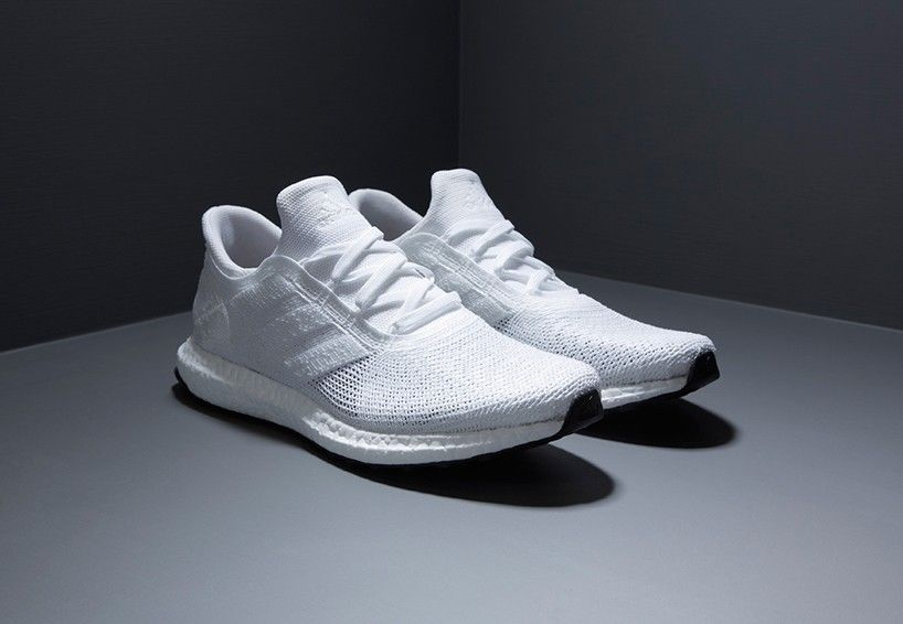 new product fedd4 323f0 CMF we like  Adidas  Sneaker  White  textile  futurecraft  tailored  Fibre  Embroidered Assembly  at Designboom