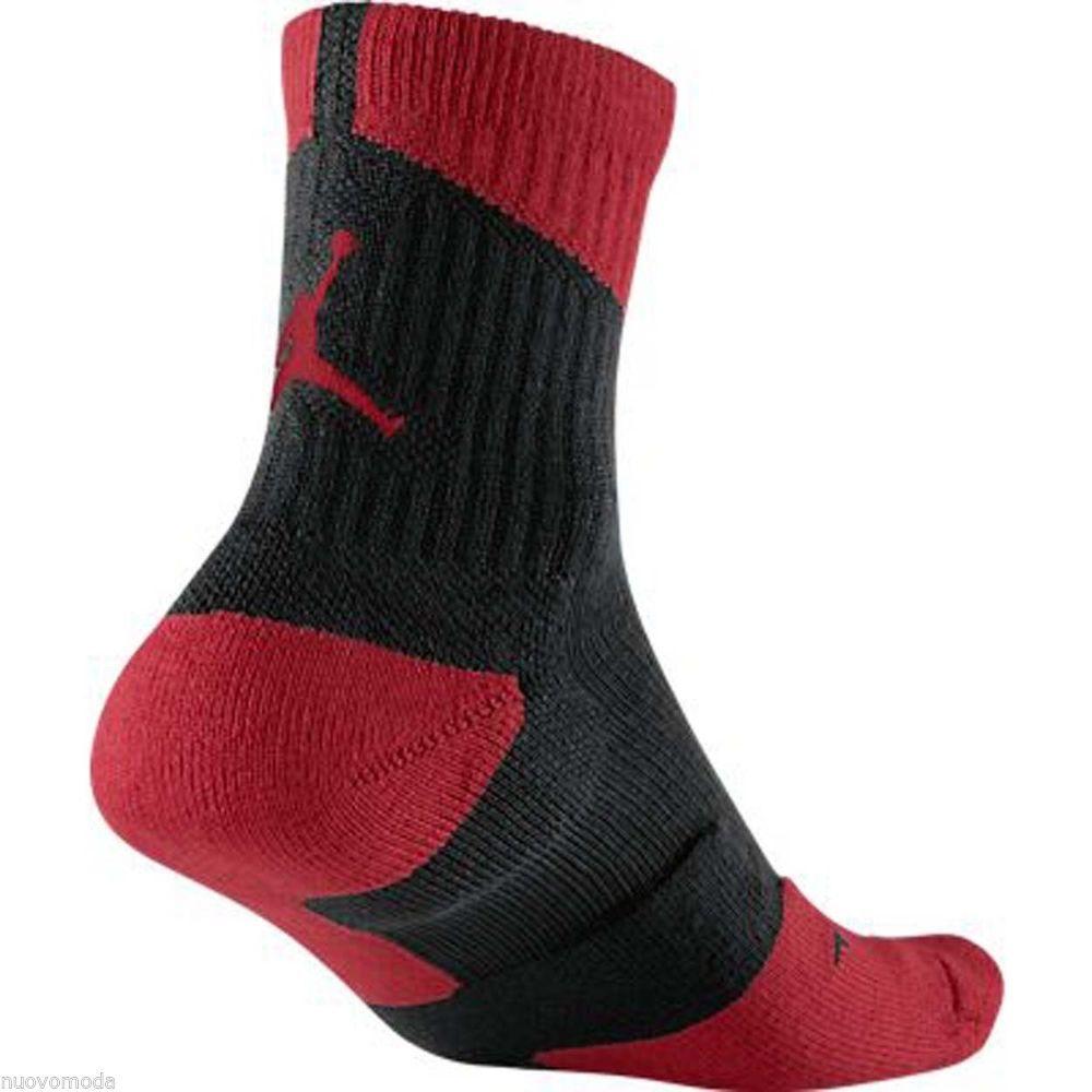NIke Men's Jordan DriFit High Quarter Socks- 573788 010-men shoes sz 8-