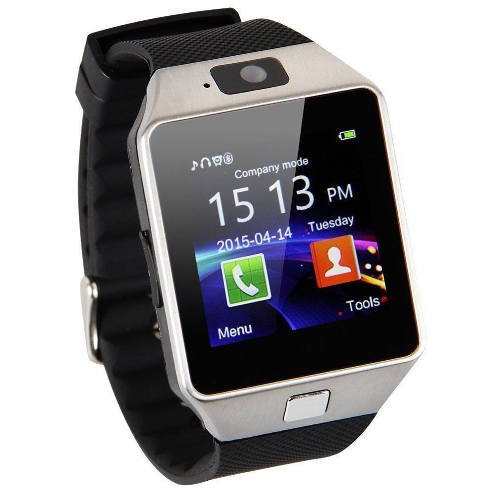 This is a great Universal SmartWatch at a great price. It has many function of the top name watches such as bluetooth calling, LCD Touch Screen, Pedometer, Sleep monitor, Camera and more. This watch h