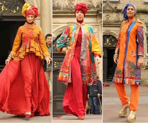 Model Baju Gamis Modern Terbaru Dian Pelangi Maroko Hijab Batik
