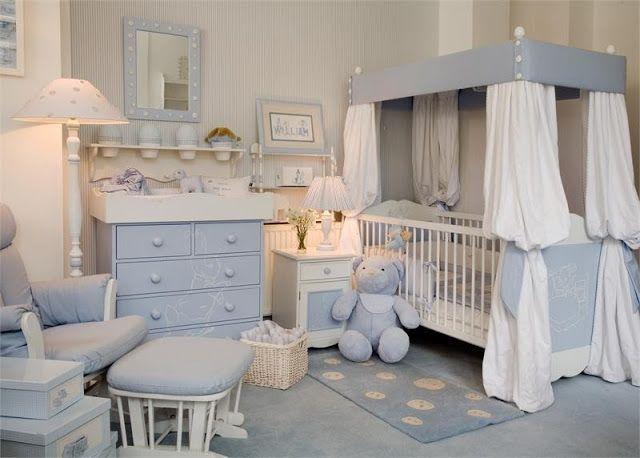 DORMITORIOS PARA BEBES VARONES   Baby rooms   Dormitorio bebe ...