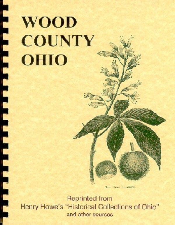 Ripley Ohio Map.Oh Wood County Ohio History Howe Others Bowling Green Perryburg