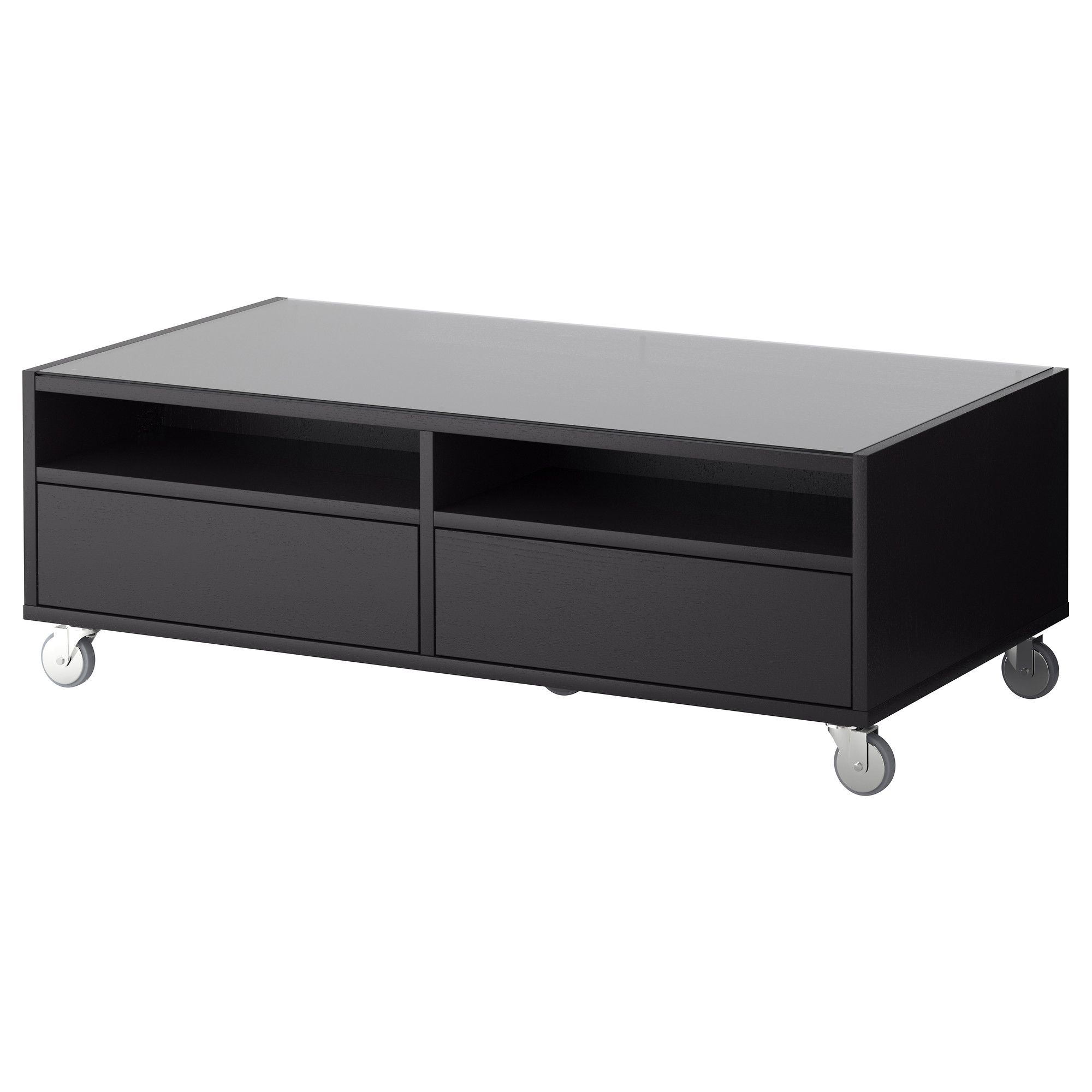 Boksel Coffee Table  Black Brown  Ikea 120